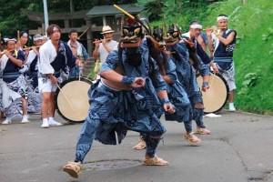 山田獅子踊り